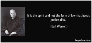 More Earl Warren Quotes