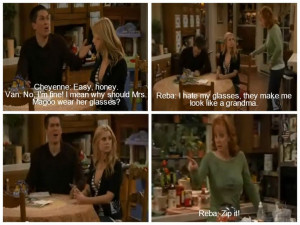 Van and Reba quote I just watched this episode again today, perfect ...