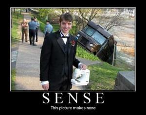 No Sense!