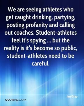 ... Student-athletes feel it's spying ... but the reality is it's become