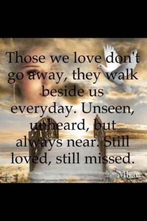 Those we Love and have lost