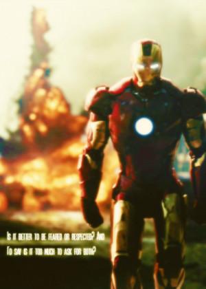 Iron Man Cute Quote Via Tumblr
