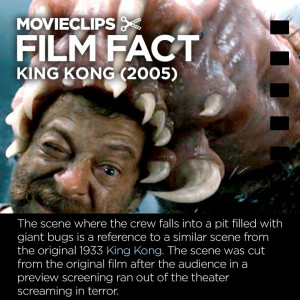 King Kong (2005) #FilmFact - Bug Pit Horror: Movie Facts, Concept Art ...