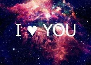 galaxy heart i love you photo Favim.com 1086574 Tumblr Galaxy ...