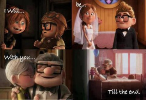Love Like The Movies: Up's Carl Fredricksen and his wife Ellie