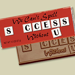 We Can't Spell Success Without U Recognition Bar