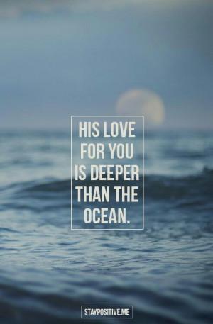 Love thats Deeper than the Ocean