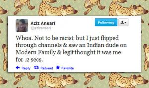Aziz Ansari is confused