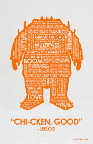 The Fifth Element Fifth Element Quote Poster