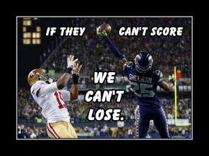Football Poster Richard Sherman Seattle Seahawks Photo Quote Wall Art ...