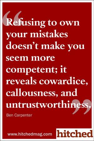 ... competent; it reveals cowardice, callousness, and untrustworthiness