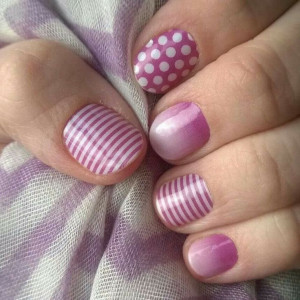 Jamberry Nails- I love these!! What a great combination! #jamberry # ...