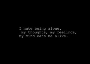 Feeling Alone Quotes Tumblr