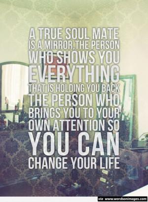 true soul mate message quote soul brainy quotes