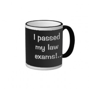 Passed My Law Exams - I'm a Legal Celebrity Mugs