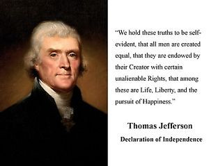 Thomas-Jefferson-Declaration-of-Independence-Quote-8-x-10-Photo ...