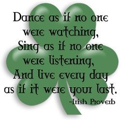 Proud to be Irish!