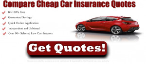 Compare cheapest car insurance quotes