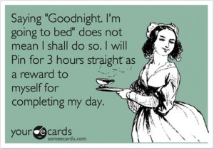 funny pinterest quotes, going to bed