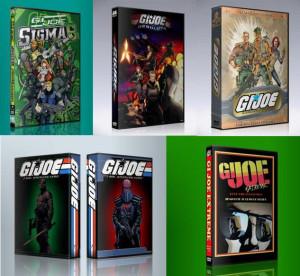 GI JOE CARTOONS 32 DVD COMBO ALL 5 sets- SIGMA EXTREME RESOLUTE G.I. G ...