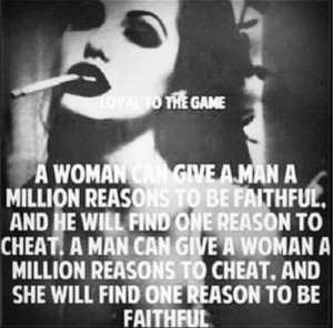 Faithful Woman Deserves a Faithful Man