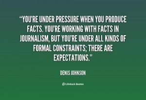 Working Under Pressure Quotes