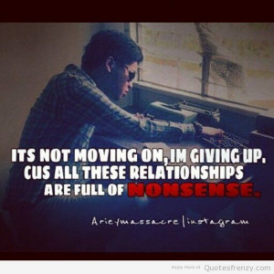 Quotes About Regretting A Break Up ~ love hate relationships breakup ...