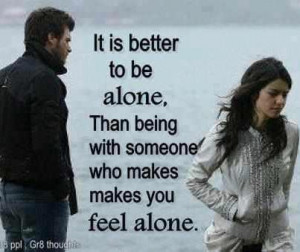 Feeling Alone In A Relationship Quotes Feeling Alone I...