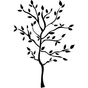 Dibujo de un arbol para colorear - Dibujos para colorear - IMAGIXS