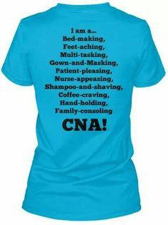CNA Job description More