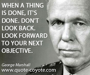 George Marshall Quotes