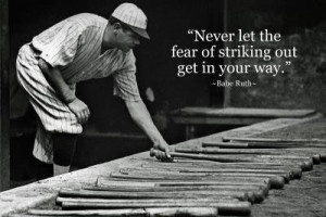 Inspirational sports quotes, sayings, best, fear