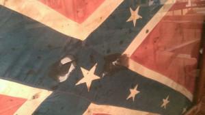 John Hunt Morgan's Calvary flag flown during Civil War