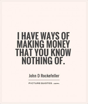 Money Quotes Rich Quotes John D Rockefeller Quotes