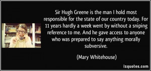 More Mary Whitehouse Quotes