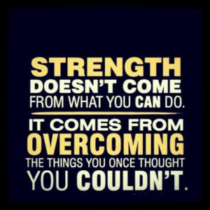 ... hard strength only choice is to be strong definition of strength