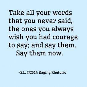 2014 Raging Rhetoric (Stephanie Bennett-Henry) Owner: Raging Rhetoric ...