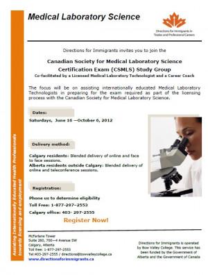 Medical Laboratory Technologist Study Group