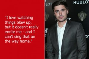 Zac Efron may be right, but he should keep these things to himself. We ...