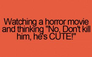 cute, horror, movie, quotes - inspiring picture on Favim.com | We ...