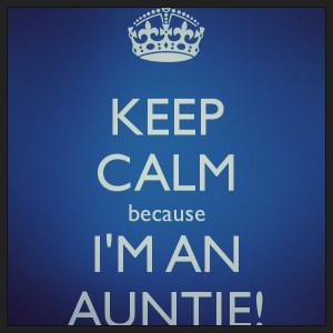 Proud Auntie!