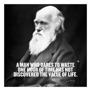 Charles Darwin Quote Canvas Art Print