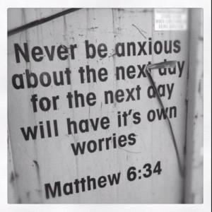 10 Bible Verses About Anxiety: Philippians 4:6-8 Matthew 6:31-34 Psalm ...