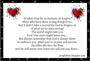INSPIRATIONAL QUOTES AND SAYINGS – The Unconditional Love of God