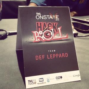 TNLOnStage #HackNRoll #DefLeppard