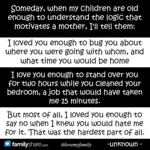 Being a great mom is a 24/7 job.