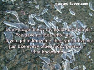 ... Picture Quotes , Inspirational Picture Quotes , Judge Picture Quotes