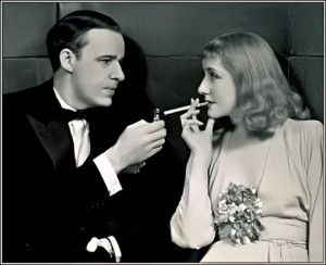 Alfred Lunt with wife Lynn Fontanne