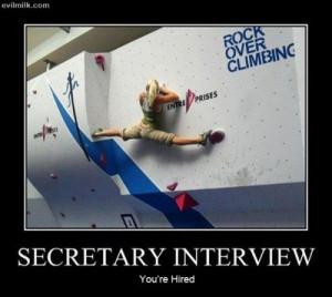 office humor | Secretary Interview