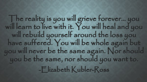 we all experience grief at some point in our lives it can be grief